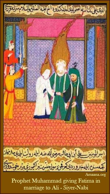 Prophet-Muhammad-giving-Fatima-in-marriage-to-Ali-Siyer-Nabi